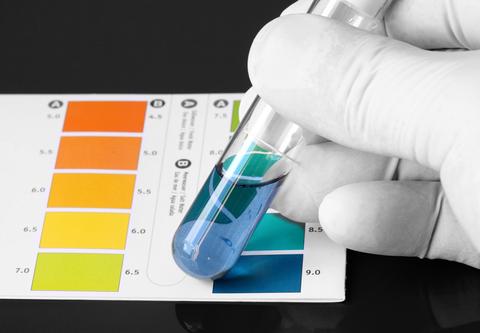 Testing Alkaline pH