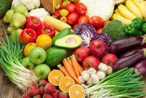 Raw Food fruits & vegetables