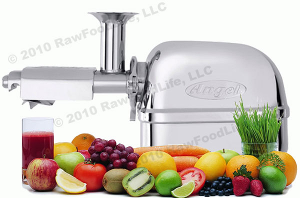 Best Masticating Juicer In The World : Super Angel - The World s Best Juicers!