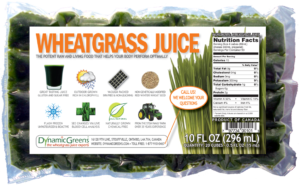 DynamicGreen Frozen Wheatgrass Juice
