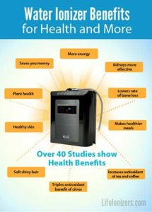Life M7X Water Ionizer Benefits