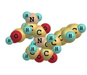 30996991 - aspartame molecule