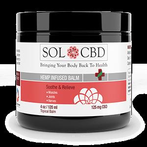 Sol CBD Herbal Balm